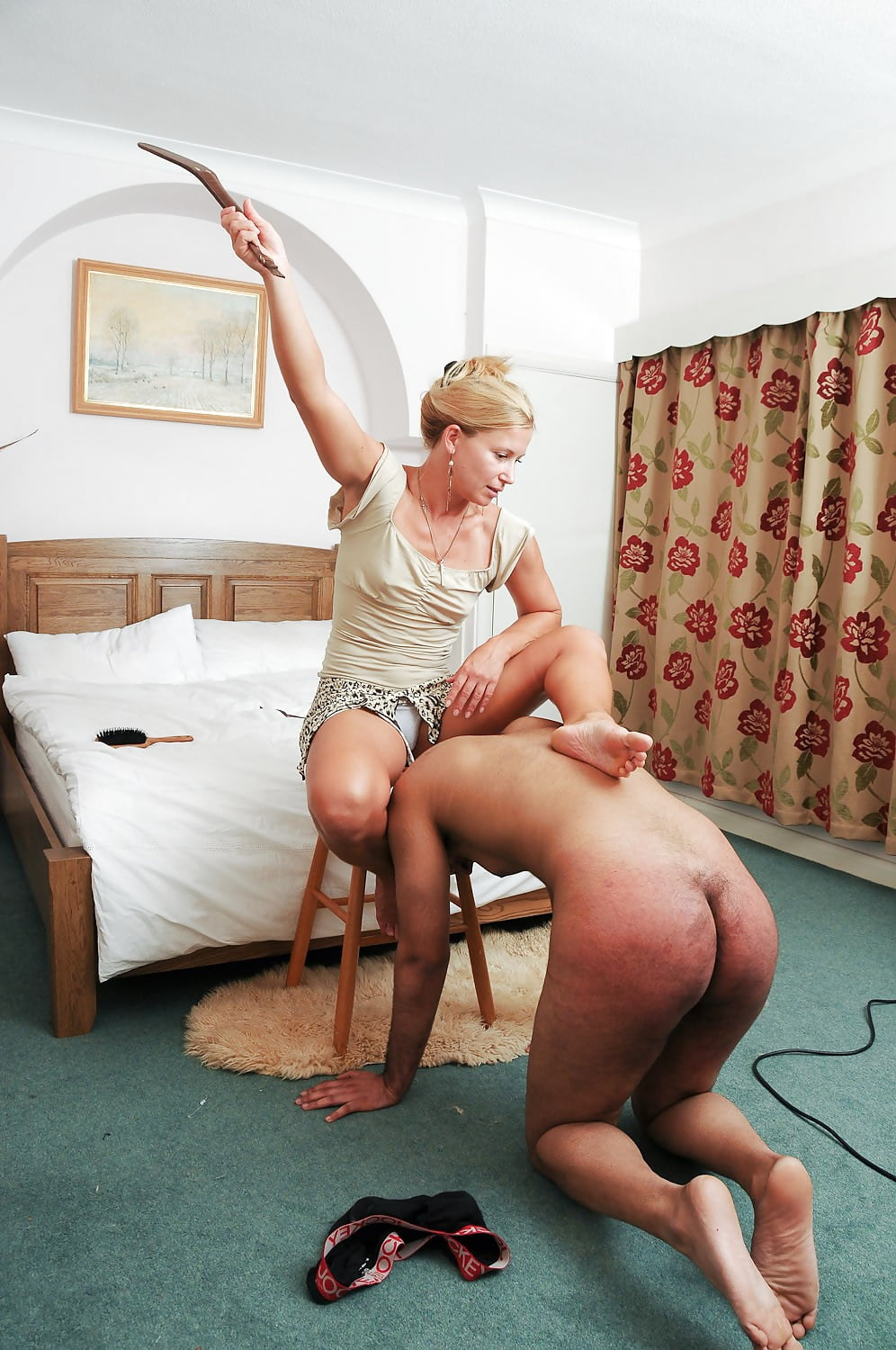 shaved-spanked-slave-husband-womens-golf-club-iron-petite