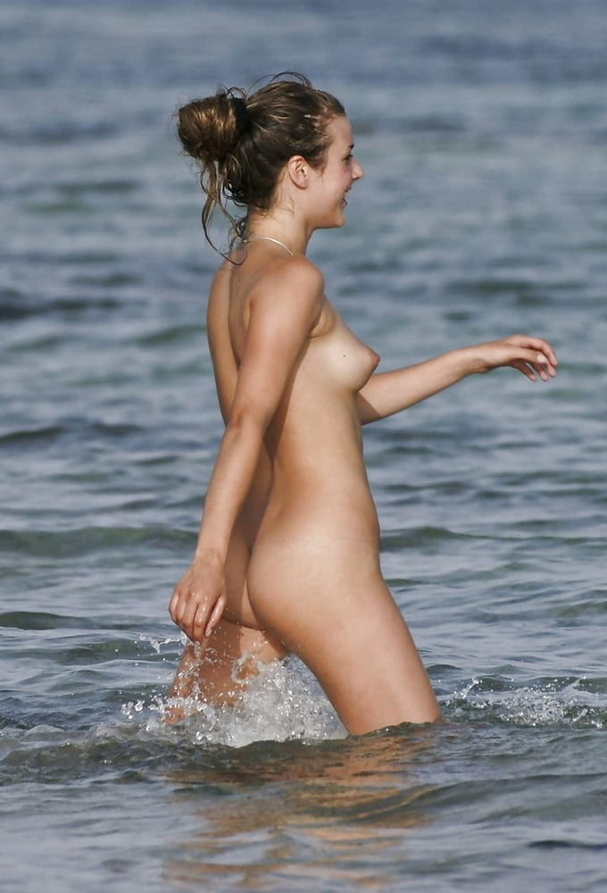 Wet and naked women