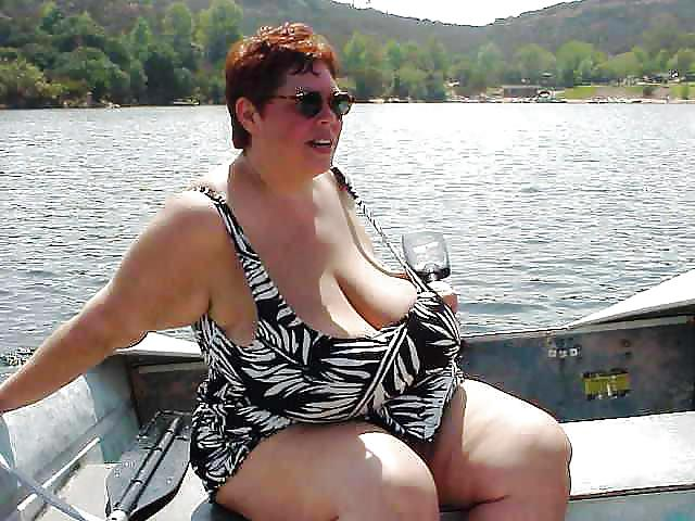 Bbw granny bikini