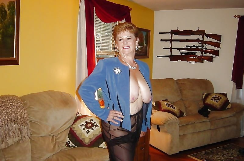 Big boobs stocking mature