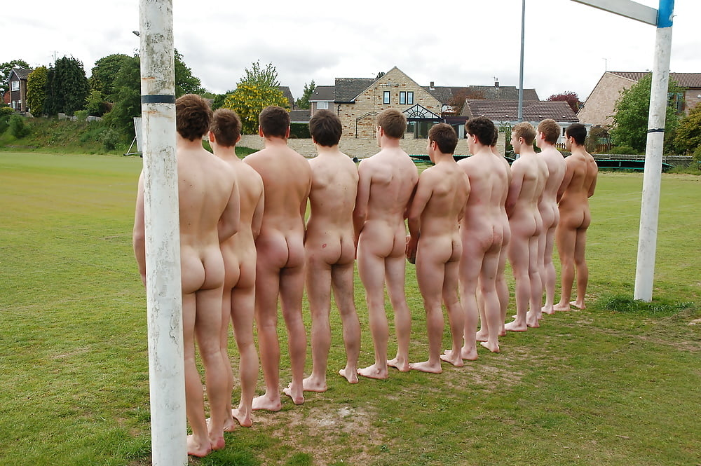 Liverpool rugby players strip off for raunchy naked charity calendar
