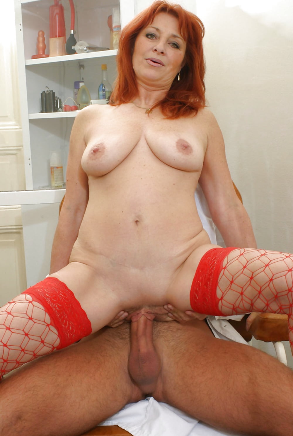 Hot Big Tit Redhead Milf Lauren Phillips Get Her Juicy Hairy Pussy Fucked By Hard Fat Cock