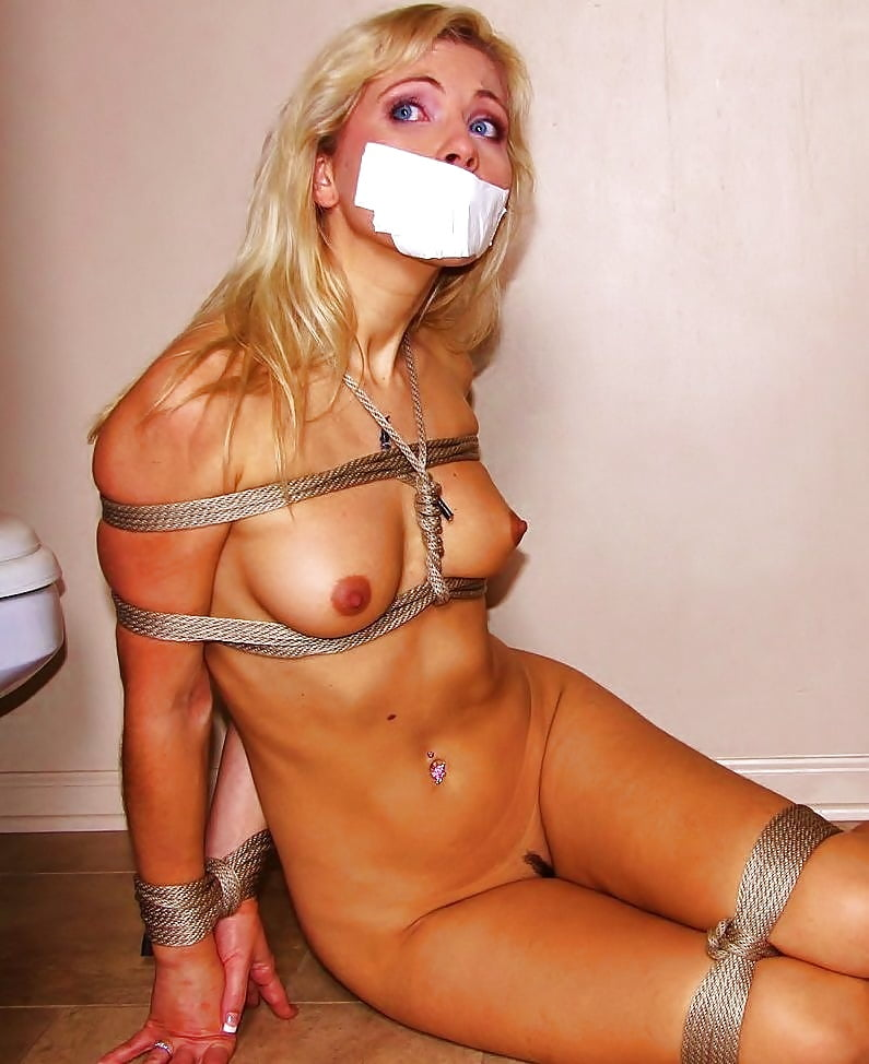 Consider, naked and gagged bound girl remarkable