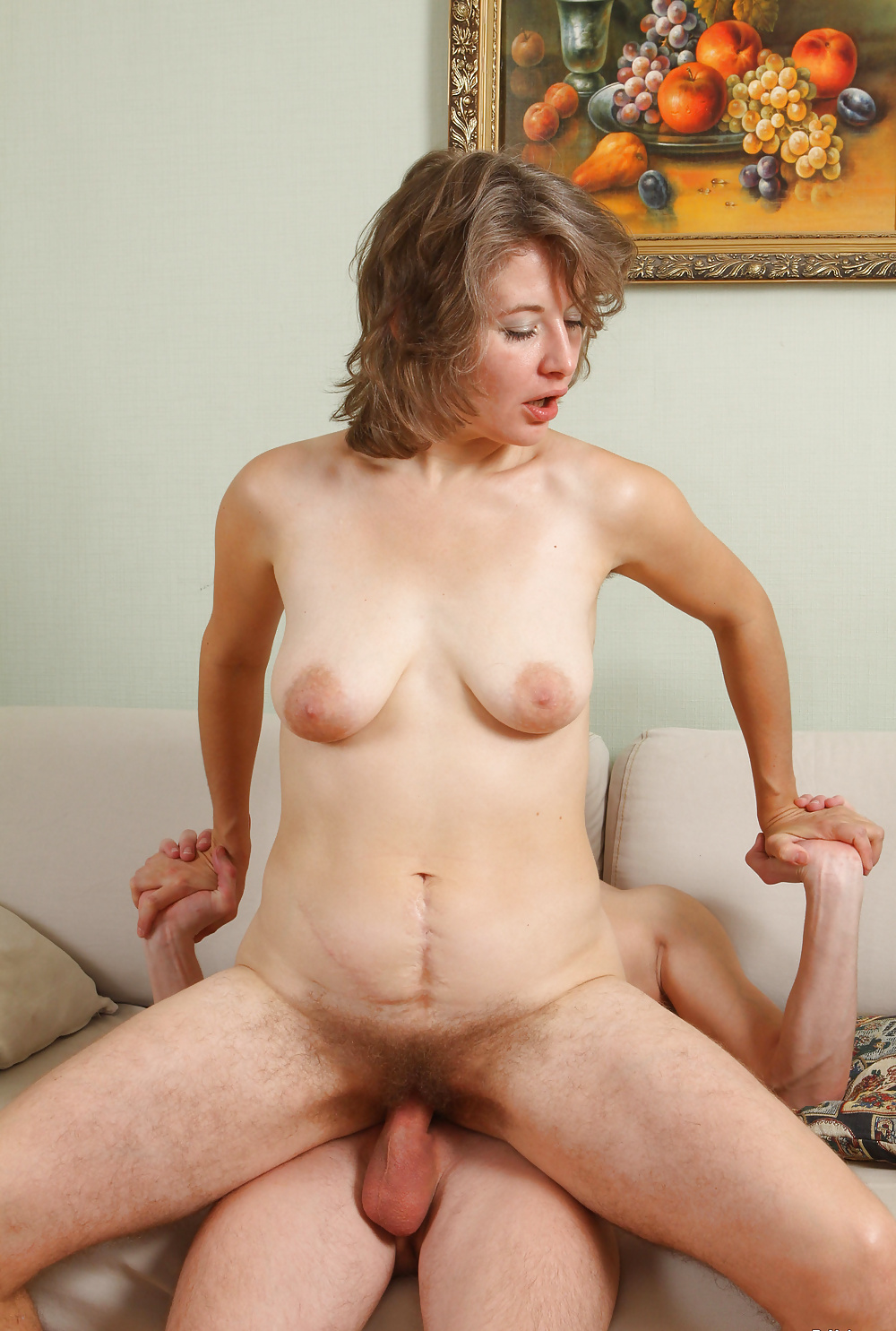 Olga Hairy Mature Woman Fucked By A Young Man - 27 Pics -2721
