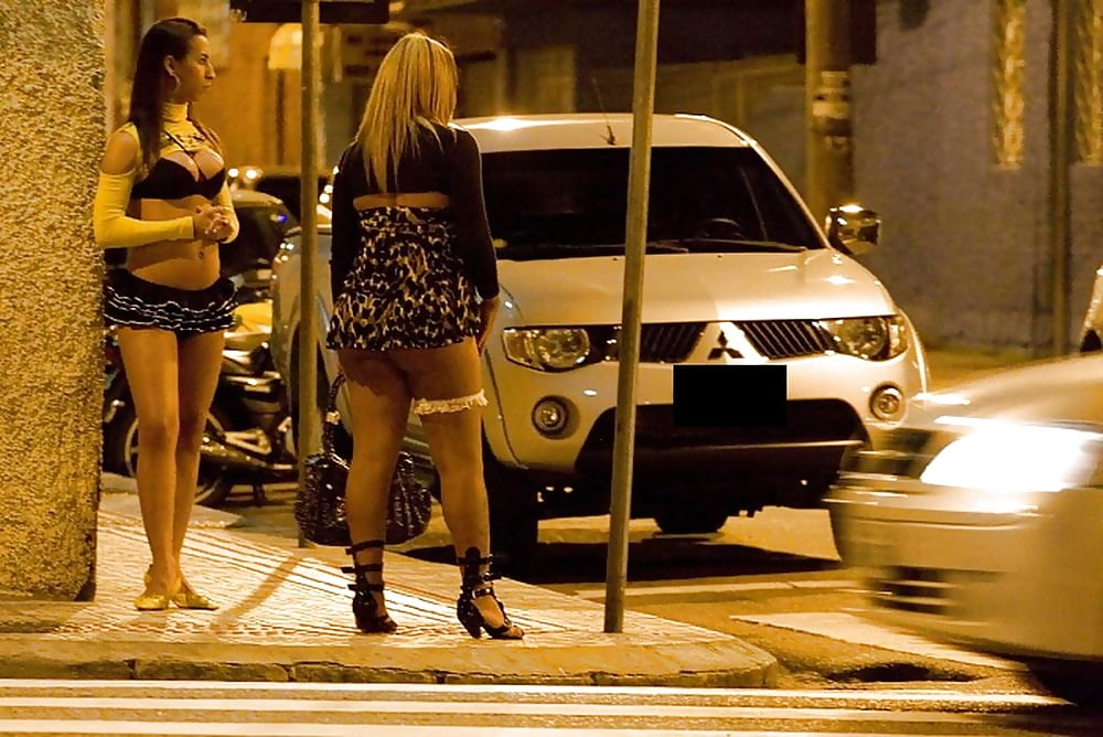 Hobby prostitute, ebony girls in miniskirts