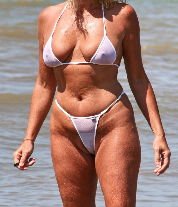 Mature Look In Bikini Your Thoughts