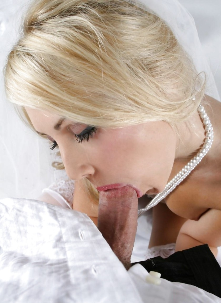 горячая невеста сосет - 5
