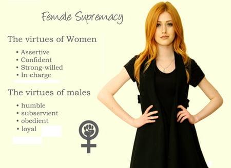 stories of superiority Erotic female